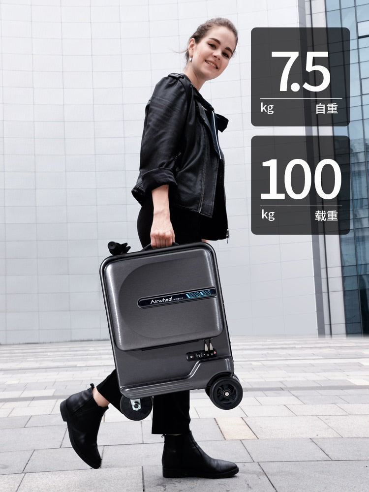 New Electric Riding Suitcase Bag Intelligent Rolling - AmineMarket-Online shopping for the latest Products