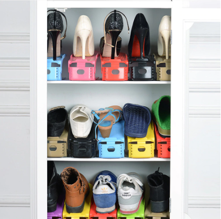 Shoes Rack (8 Pack) - AmineMarket-Online shopping for the latest Products