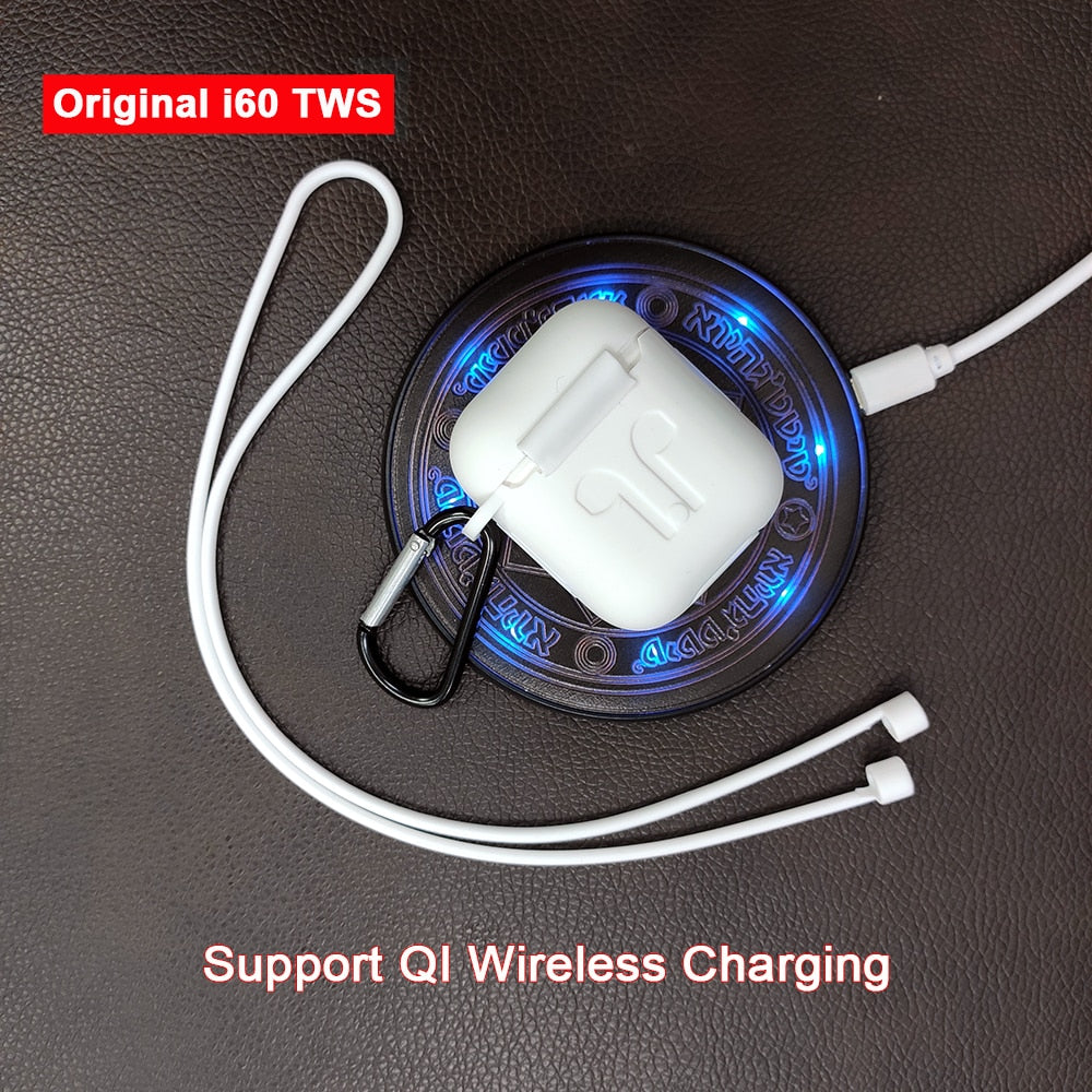 Wireless Charging Bluetooth 5.0 Earphones - AmineMarket-Online shopping for the latest Products