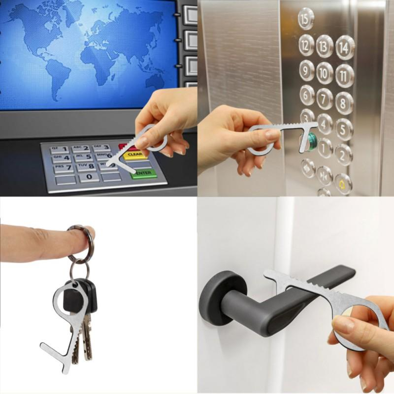No Touch key Portable Anti-germ Contactless Tool Assistant - AmineMarket-Online shopping for the latest Products