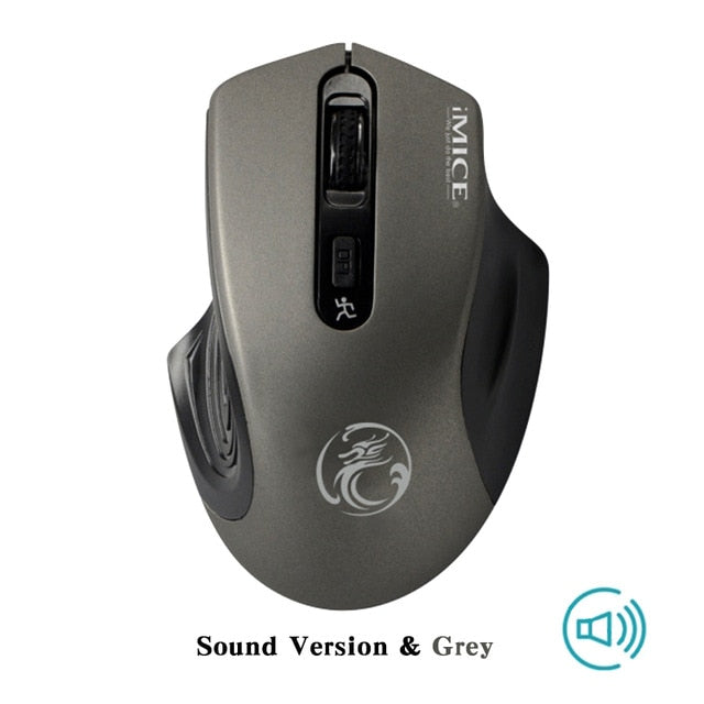 Computer Mouse 2.4GHz Ergonomic Mice For Laptop - AmineMarket-Online shopping for the latest Products
