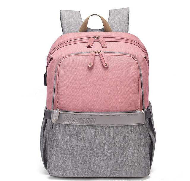 Deluxe Mommy Diaper Backpack Waterproof - AmineMarket-Online shopping for the latest Products