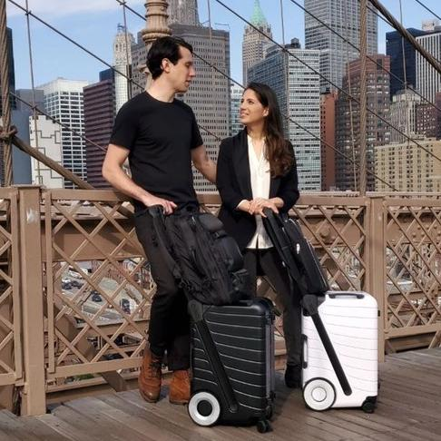 The SIX: A Carry-on You Effortlessly Push Forward Free & Faster Shipping - AmineMarket-Online shopping for the latest Products