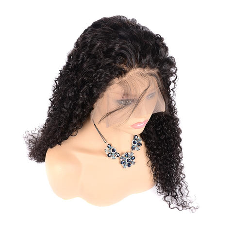 Natural Kinkly Curly Wig