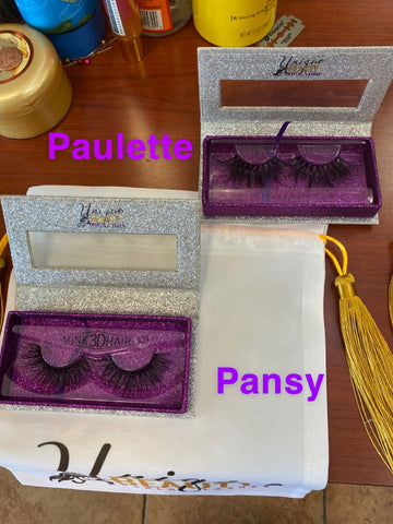 """Pansey"" Mink Lashes"