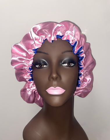 Pink Unique Beauty Hair Bonnet