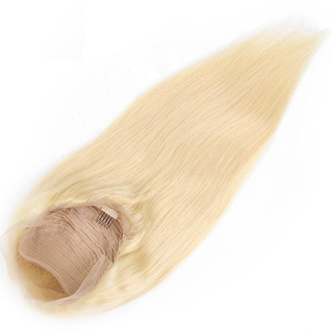 Blonde Straight Lace Wig