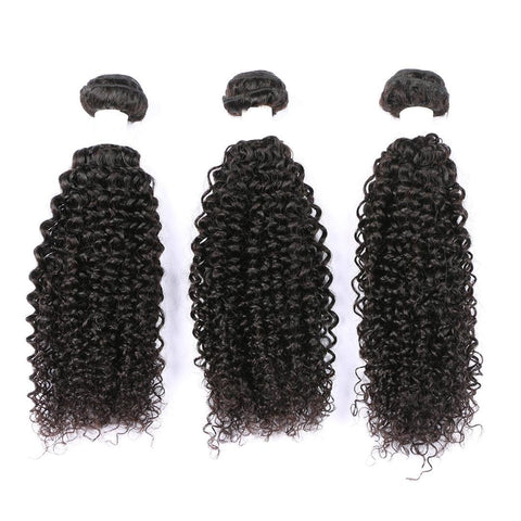 Natural Kinky Curly Bundles