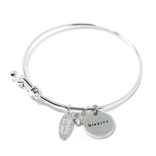 Breathe (Bangle, Silver)