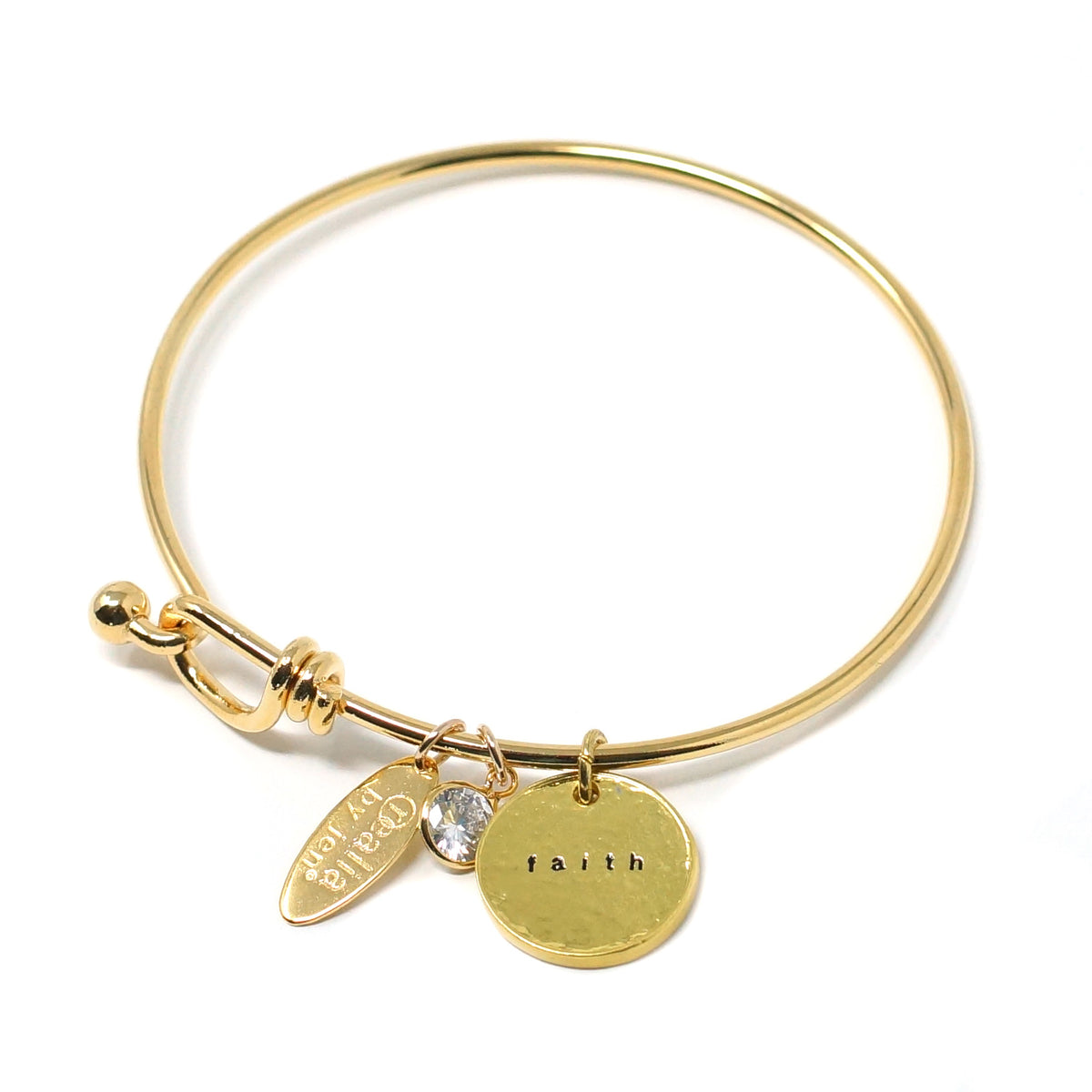 Faith (Bangle, Gold)