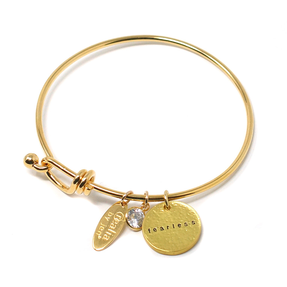 Fearless (Bangle, Gold)