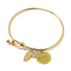 Fierce (Bangle, Gold)