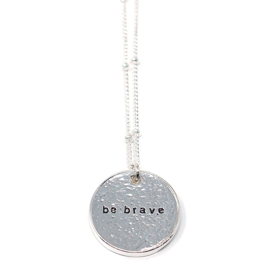 Be Brave (Necklace, Silver)