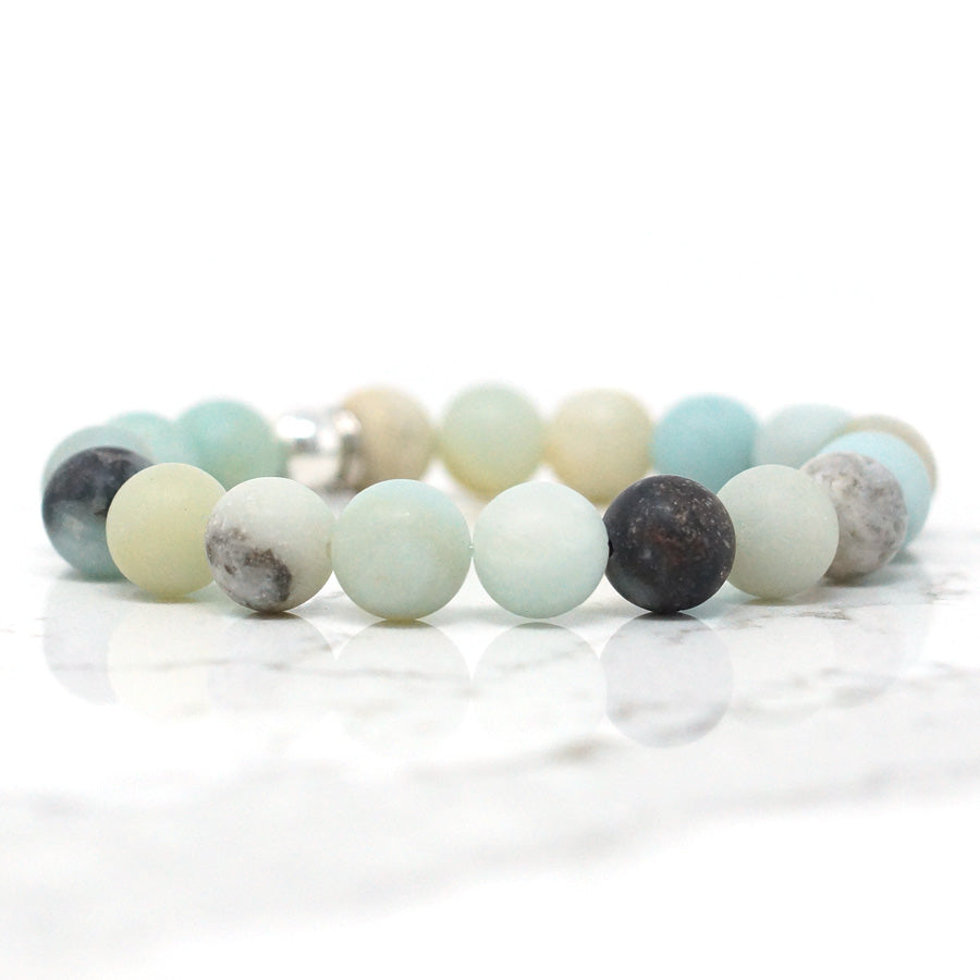 Amazonite - Matte Natural Stone Bracelet (10MM)