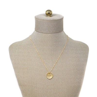 Breathe (Necklace, Gold)