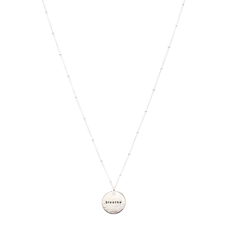 Breathe (Necklace, Silver)