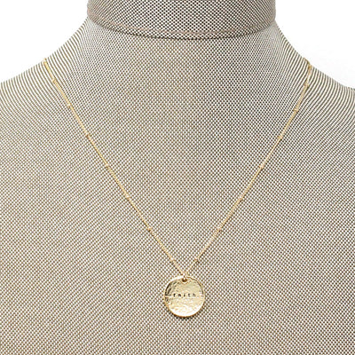 Faith (Necklace, Gold)