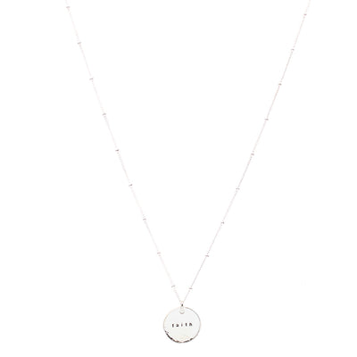 Faith (Necklace, Silver)