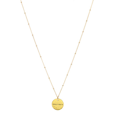 Fearless (Necklace, Gold)