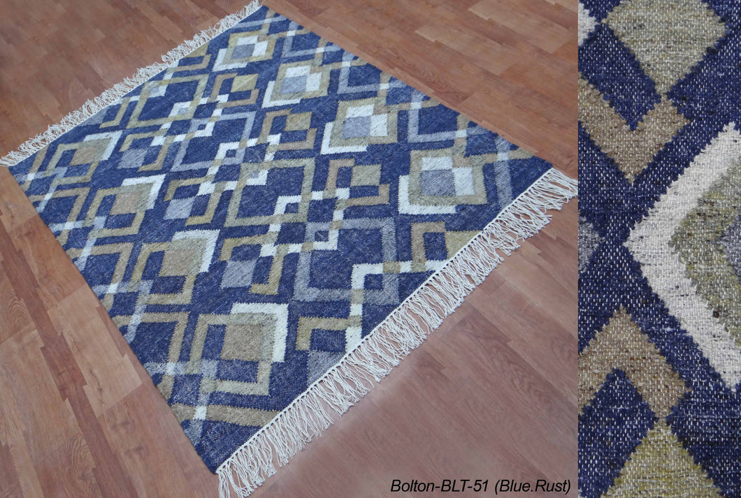 Samples - Bolton - 1.80m x 1.20m  - Blue