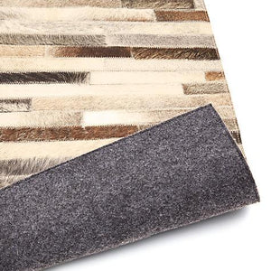 Cow Hide Stripe Natural