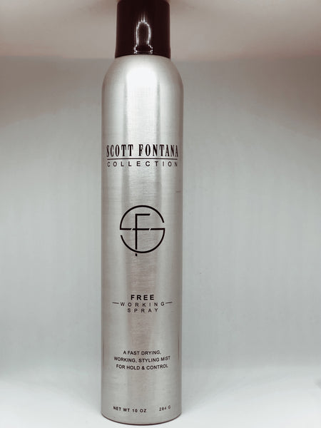 Free Working Hair Spray (10oz)