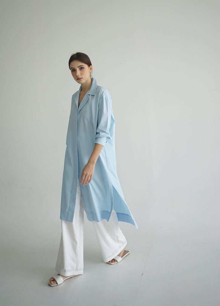 MINAKO SHIRT SKY BLUE