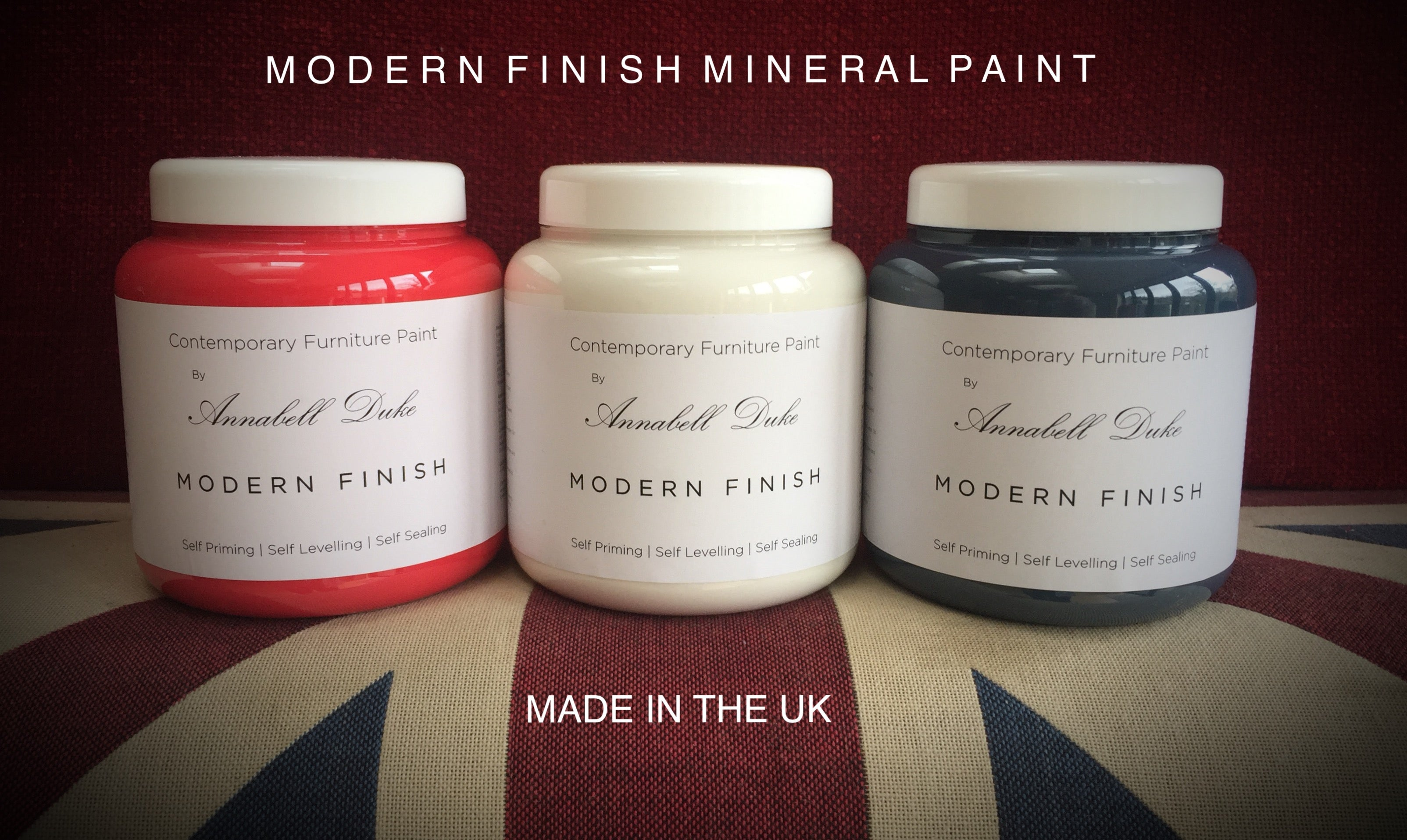 Annabell Duke Modern Finish Mineral Paint - Made in the UK