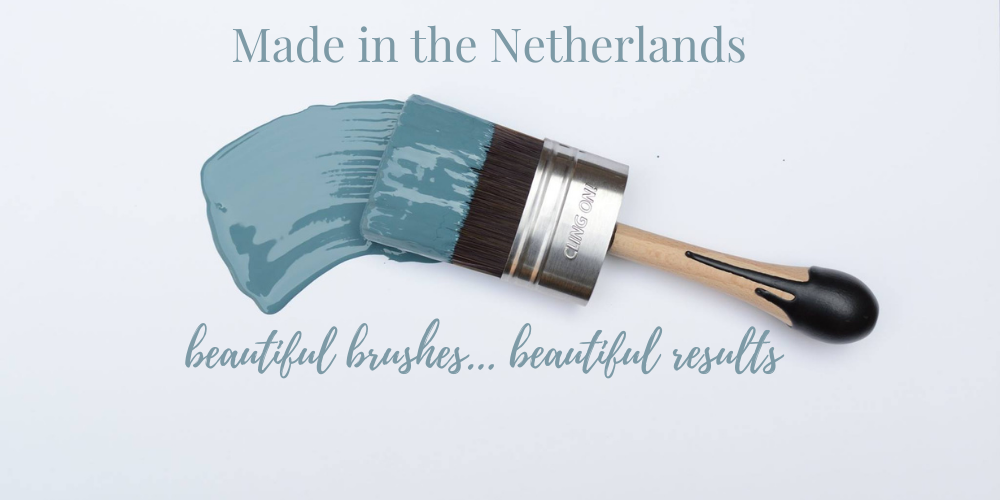 Cling On! brushes: beautiful brushes, beautiful results