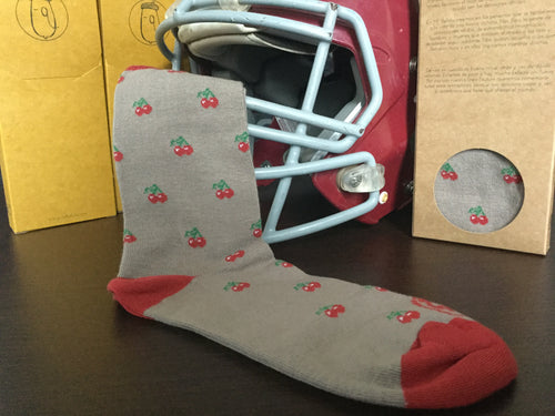 Cherry Red - Knights Socks