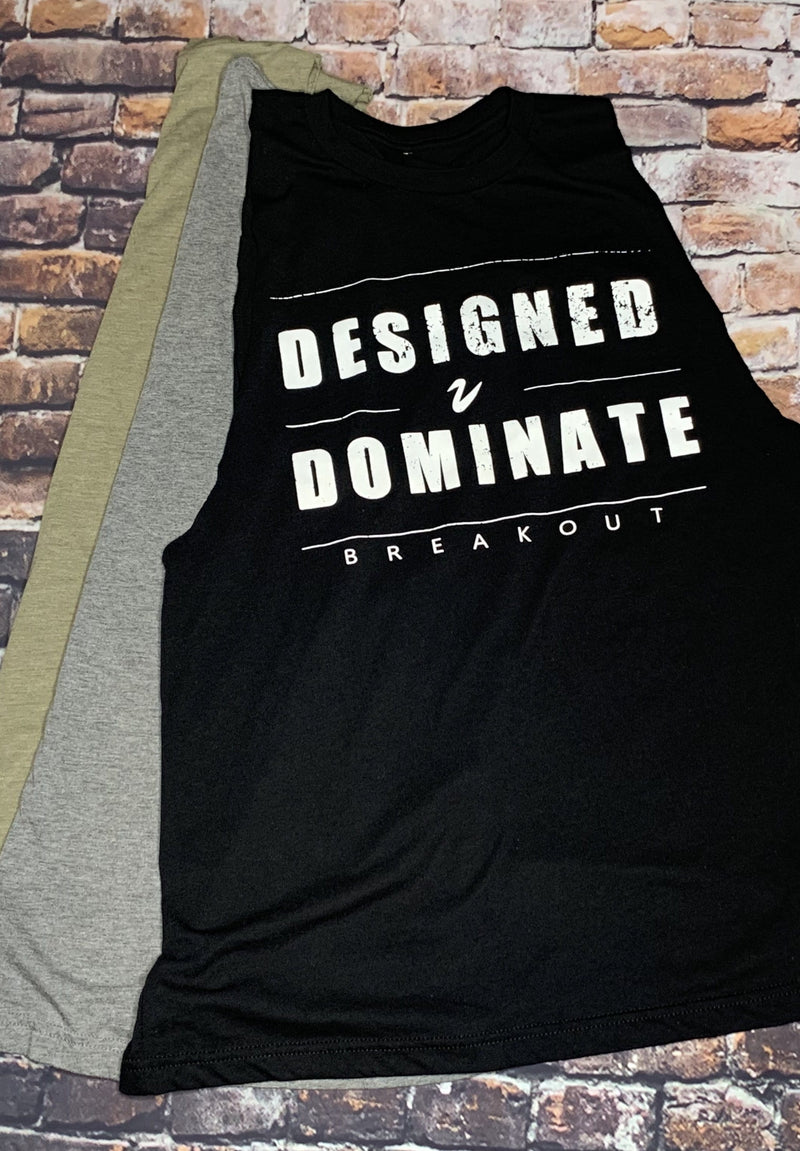 DESIGNED TO DOMINATE Mens' Tank