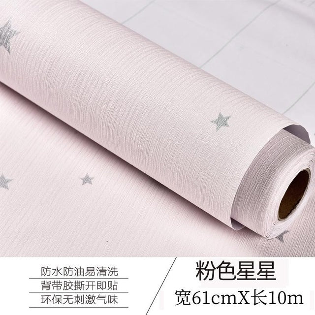 Self-adhesive Wallpaper Warm Bedroom