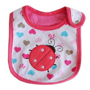 Baby Bibs Cute Cartoon Pattern - Pro Toddlers
