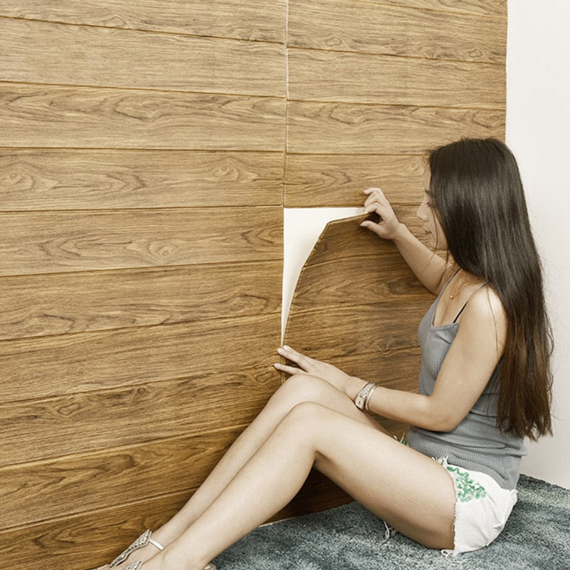 DIY Self adhesive Waterproof Wallpaper