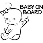 BABY ON BOARD Warning Sign 16*14.1CM - Pro Toddlers