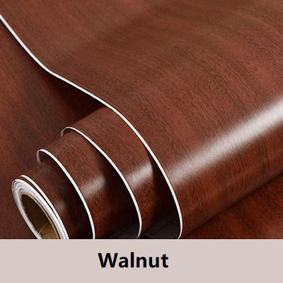 PVC Vinyl Wood Grain Contact Wallpaper