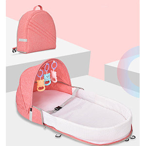 Multi-function portable baby crib both shoulders mummy bag baby bed travel baby bed newborns baby crib detachable child bed - Pro Toddlers