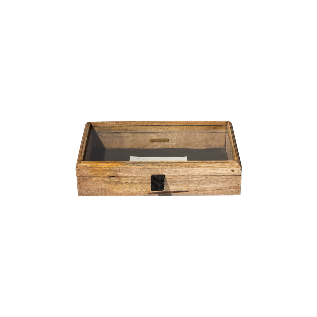 WOODEN DISPLAY BOX / Small