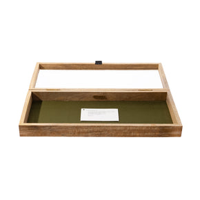 WOODEN DISPLAY BOX / Large