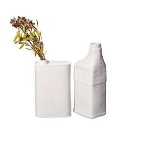 OIL CAN / BOTTLE SHAPED FLOWER VASE