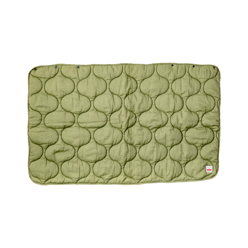 QUILTED WRAP BLANKET