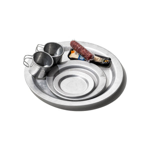 ALUMINIUM SERVING SET