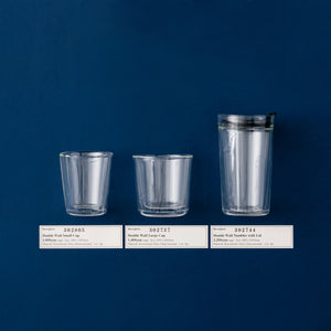 DOUBLE WALL TUMBLER WITH LID