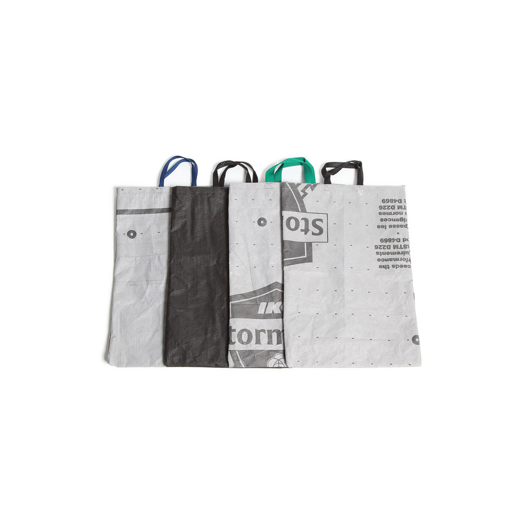 RECYCLED TARP TOTE BAG / Small