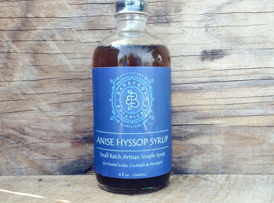 Anise Hyssop Simple Syrup
