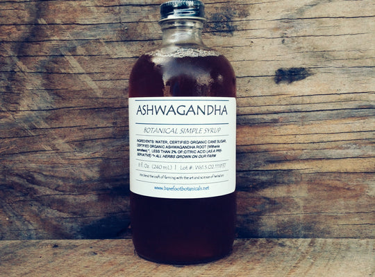 Ashwagandha Simple Syrup