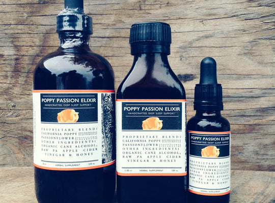 Poppy Passion Elixir - deep sleep support