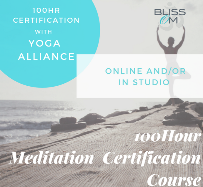 Meditation Certification 100-Hour