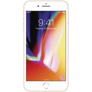 Apple iPhone 8 Plus 64GB AT&T locked to AT&T Gold Like new