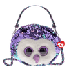TY Gear Moonlight Reversible Sequin Owl Purse